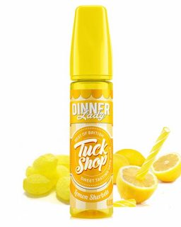 dinner lady tuck shop lemon sherbet shake and vape