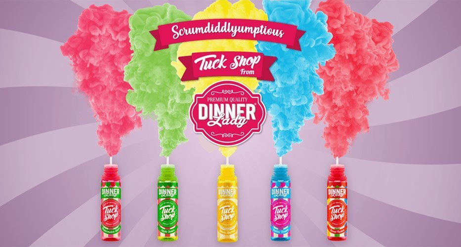 Dinner Lady Tuck Shop Banner