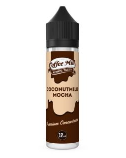 Coconutmilk Mocha Coffee Mill Shake and Vape