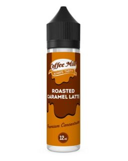 Roasted Caramel Latte Coffee Mill Shake and Vape