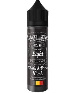 tobacco bastards shake and vape no33 light tobacco